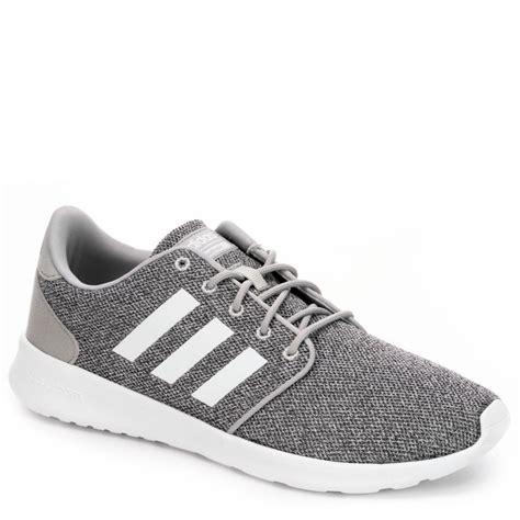 adidas neo cloudfoam qt racer womens running shoe dark