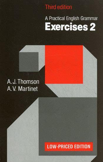 Tomson And Martinet Grammar quot a practical grammar exercises quot by a j thomson a v martinet клуб любителей
