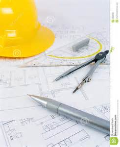 architecture drawing tool building projects with architect drawing stock photos image 4962593