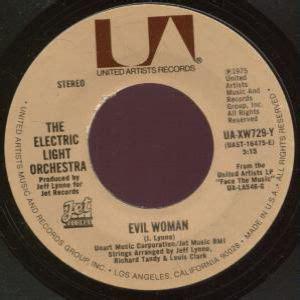 evil woman electric light orchestra lyrics electric light orchestra akordy a texty p 237 sn 237 zpěvn 237 k