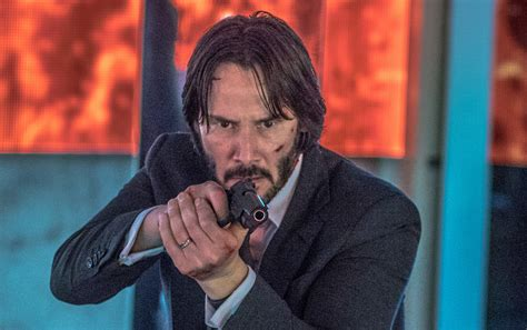 laurence fishburne keanu reeves reunite  john wick sequel front row features