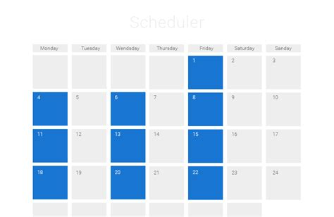 javascript event calendar ajax scheduler dhtmlxscheduler