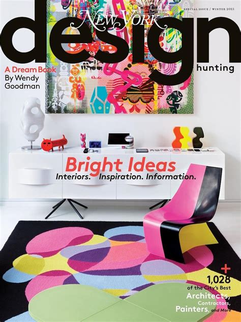 design hunting new york magazine get inspired by the best interior design magazines ever