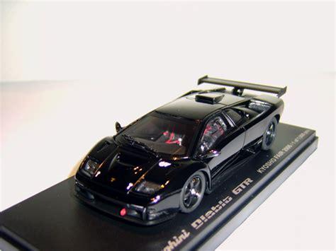 Kyosho Scale 1 43 Lamborghini Veneno Black Y1103 kyosho lamborghini diablo gtr black in 1 43 scale mdiecast