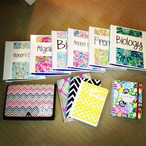 Decorating Notebooks For School by 25 Best Ideas About Decorating Binders On