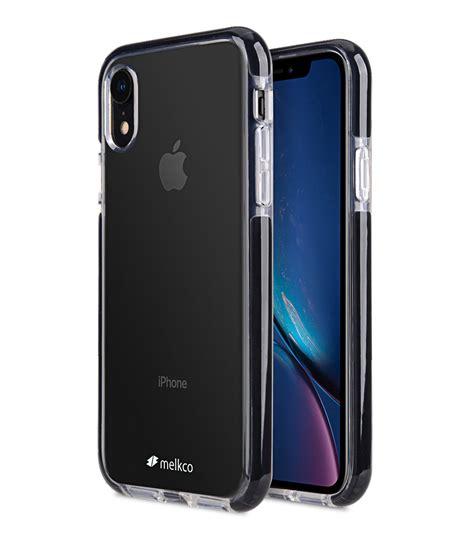 clear supreme guard case  apple iphone xr  transparent black