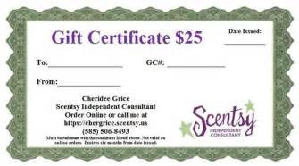 scentsy gift certificate template gift certificate templates apexwallpapers