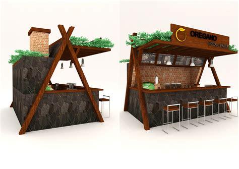 booth design contest gallery interior booth desain untuk oregano pizza e past