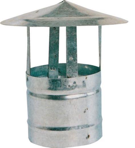 fumaiolo per camino fumaiolo cappello fisso cinese 216 12 cm in acciaio zincato