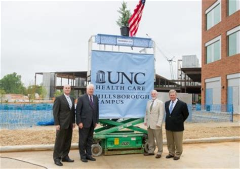 Unc Mba Healthcare by Topping Out In Hillsborough Unc Health Care Hillsborough