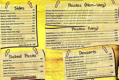 big yellow door vijay nagar new delhi food menu 3
