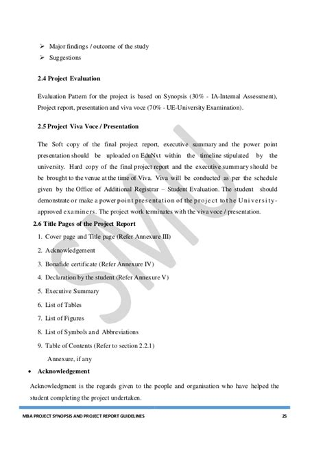 Mba Project On Quality by Mba Project Guidelines 2016