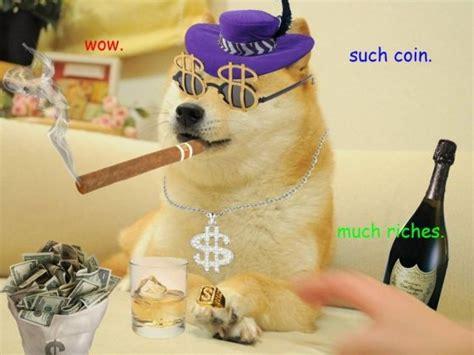Dogecoin Meme - doge 图片 互动百科
