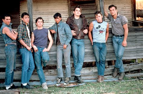 rob lowe patrick swayze made tom cruise look lobotomized rob lowe toured the outsiders house on his 53rd birthday