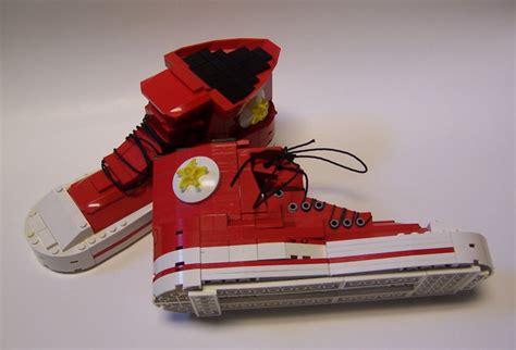 lego shoes lego converse as sporty lego moc creative awesomenator