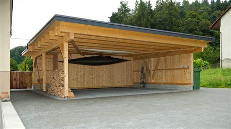 Cool Cabin by Carport Hochuli Holzbau