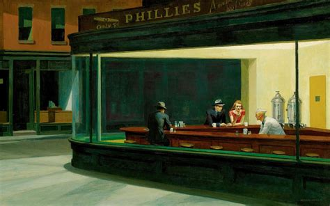 classic restaurant wallpaper painting restaurant nighthawks edward hopper classic