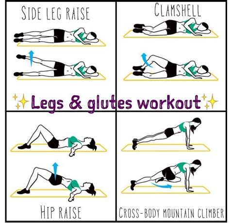 legs and glutes workout health fitness