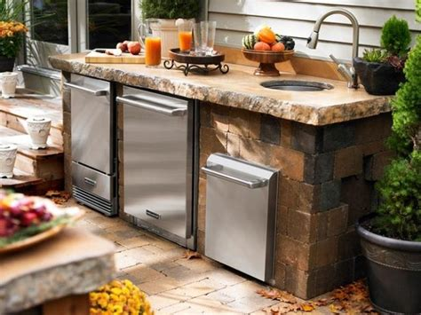 best outdoor kitchen kitchen adorable stacked stone outdoor kitchen best
