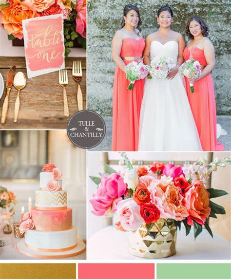 top 6 gold wedding color ideas summer 2015 tulle chantilly wedding
