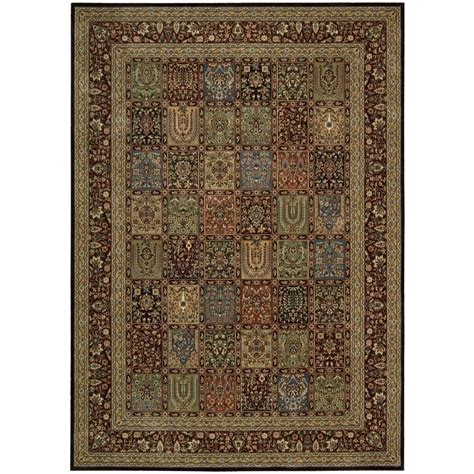 multicolor rugs nourison arts multicolor 7 ft 9 in x 10 ft 10 in area rug 693044 the home depot