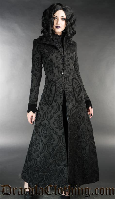 Black Brocade black brocade ives coat