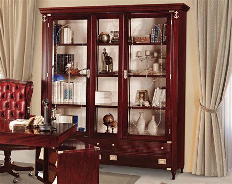 librerie pontedera goldline libreria ufficio in legno massello by caroti