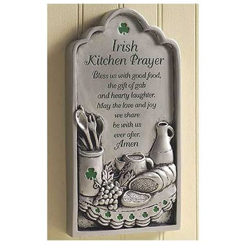 irish decor for home irish kitchen prayer plaque dream home and decor ideas
