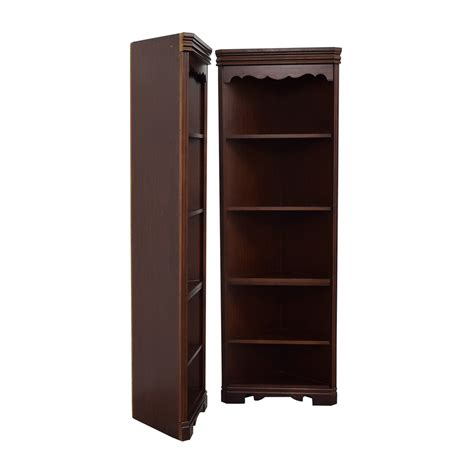 81 broyhill broyhill triangular corner bookshelves
