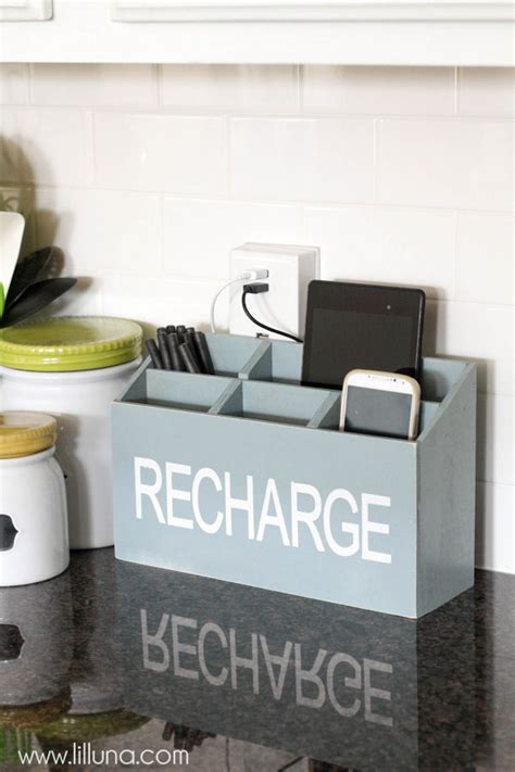 diy charging station a great tutorial to keep all your diy charging station