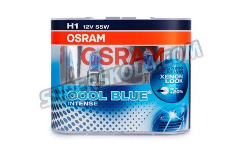 Osram Cbi H1 Xenon Look 4 200k h1 osram 12v 55w cool blue bulb set superskoda