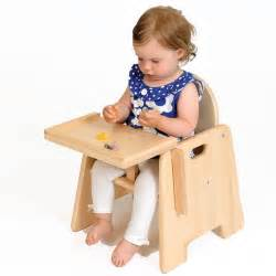 toddler beech chair with tray from early years