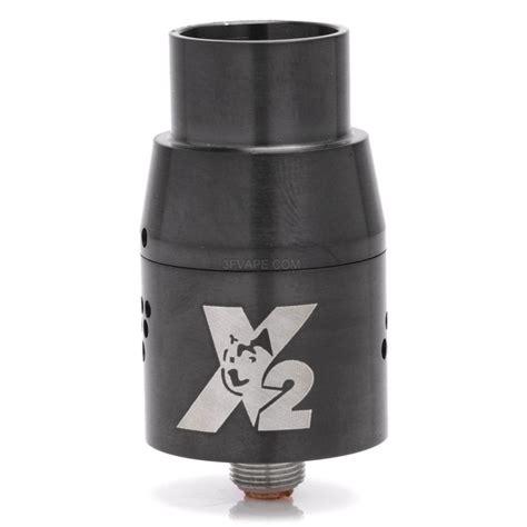 Rda Doge V2 22mm Harga doge x v2 style rda rebuildable atomizer black stainless steel 22mm diameter 3fvape