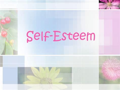 Self Esteem Self Esteem Powerpoint Templates