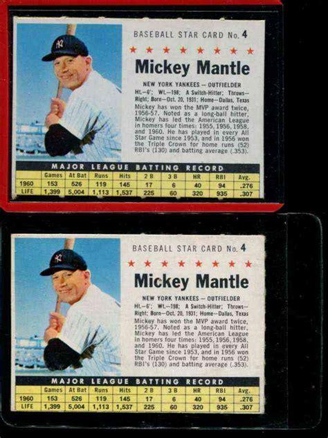 Gift Card Value Lookup - mickey mantle baseball cards lookup beforebuying
