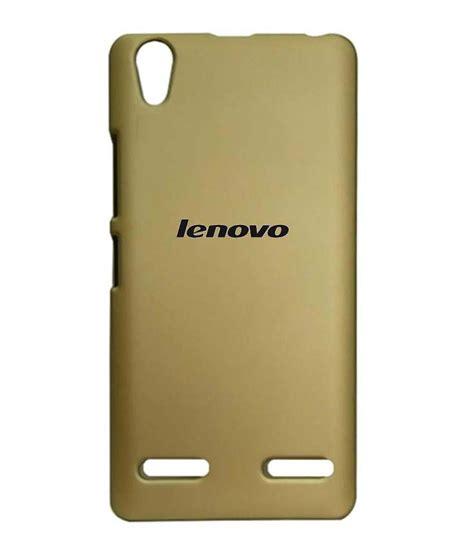 Back Tutup Belakang Lenovo A6000 neeshee shell back cover for lenovo a6000 a6000 plus golden plain back covers