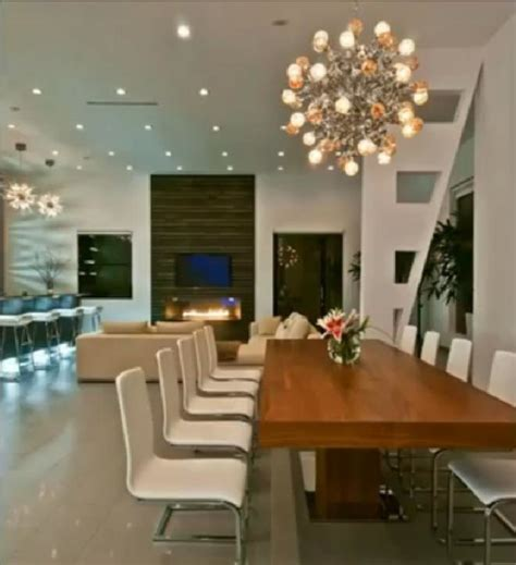 Modern House Dining Room luxury modern house in contemporary dining room los angeles by bauformat