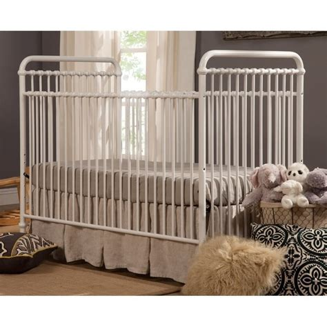 Iron Convertible Crib Franklin Ben Abigail 3 In 1 Convertible Iron Crib In Washed White B15501wx