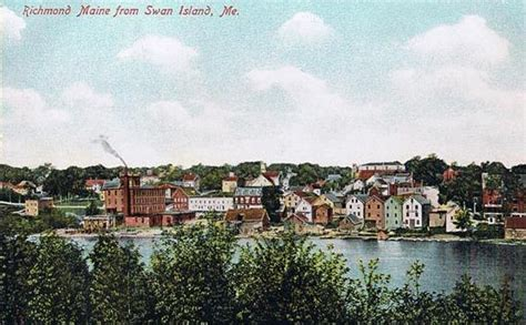 a history of swan s island maine classic reprint books file richmond maine from swan island jpg wikimedia commons