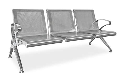 stainless bench outdoor seating silverline steel benches