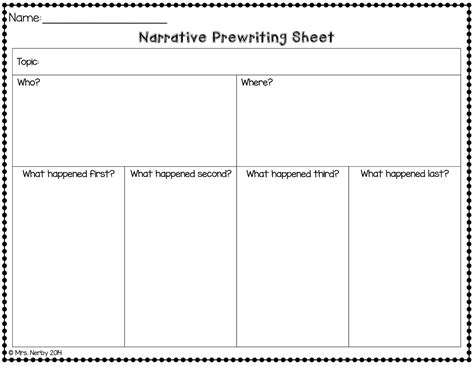 Narrative Essay Writing Graphic Organizers by Narrative Writing Graphic Organizer Second Grade Help Improve Your Child S Reading And Writing