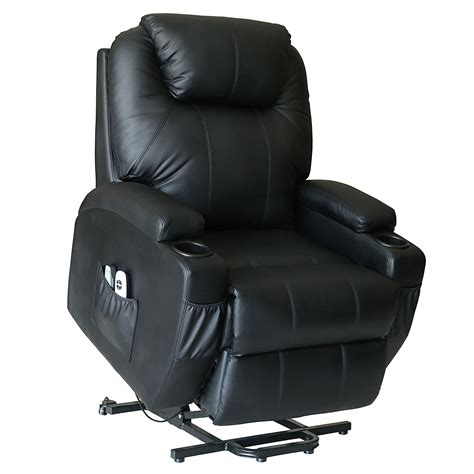 recliner chair on wheels deluxe wall hugger power lift heated vibrating massage