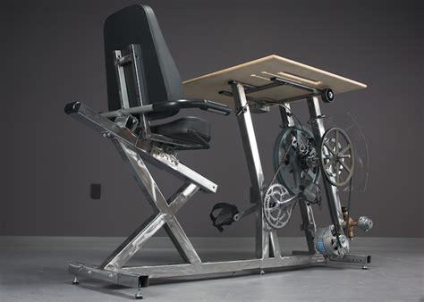 Diy Bike Desk Pedal Power Design Build Human Scale Multifunction Pedal Powered Machines