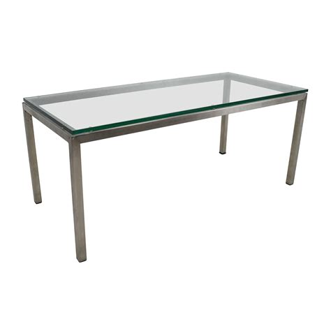 room and board glass coffee table room and board room and board glass coffee table