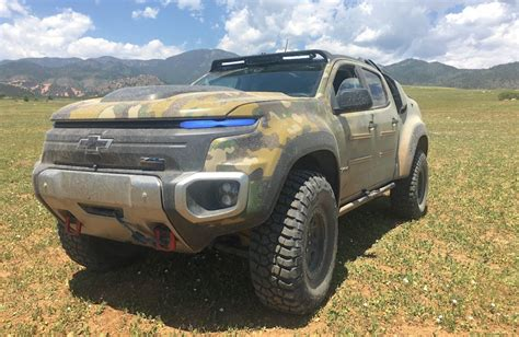 A Frame House Kit Is The Chevy Colorado Zh2 The New Humvee We Go For A Ride