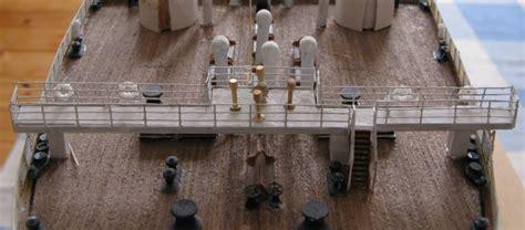 wann wurde die titanic gebaut blick auf die br 252 cke auf dem poopdeck der titanic diese