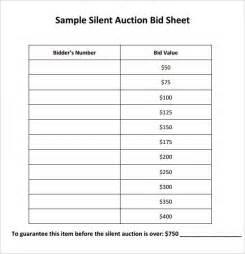 silent auction program template silent auction bid sheet template musicax org