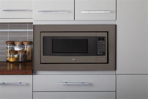 ge cabinet microwave ge 1 cu ft countertop cabinet microwave with
