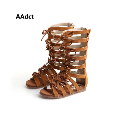 Premium Sandals High Quality Best 2016 summer boots high top fashion sandals gladiator sandals toddler baby