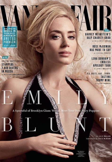 s vanity fair cover the cover story emily blunt world meet your new